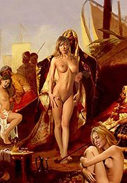 I am interested in this slave - Slavegirls in an oriental world by Damian art