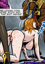 Predondo fansadox 513 Gentlemen's club 3 - Beautiful, fiery redheaded beatrice is trapped in hell when her training kicks into high gear