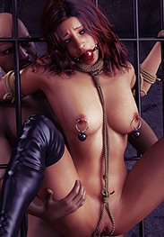 Hawke fansadox 566 Agent X 2 Last Gasp - Will she escape or is she doomed to scream and cream